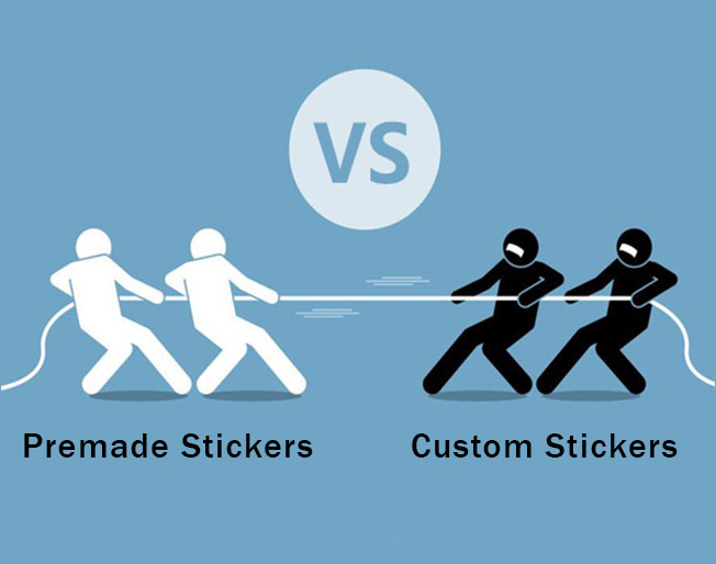 Custom Stickers or Premade Stickers – Which One is Better for You?