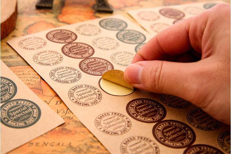 Custom Circle Paper Labels