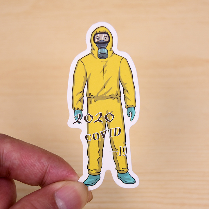 Remember the outbreak stickers.